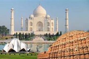 4 Night 5 Days Golden Triangle Tour (Delhi-Agra-Jaipur-Delhi)