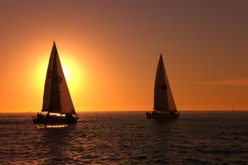Segelausflug bei Sonnenuntergang mit kleiner Gruppe in San Diego