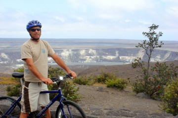 Excursão de bicicleta para o vulcão Kilauea