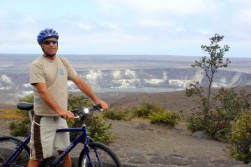 Excursión en bicicleta por volcán...