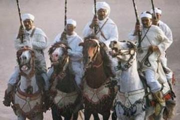 Marokkanisches Festmahl mit Fantasia-Kultur-Show