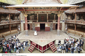 Shakespeare's Globe Theatre Tour and Exhibition with Optional...