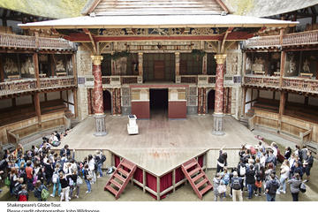 Shakespeare's Globe Theatre-tour en -tentoonstelling met optionele ...