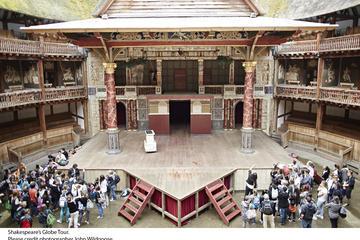 Visite et exposition au Théâtre du Globe de Shakespeare avec pause...