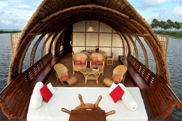 Day Cruise with South Indian Lunch on the Kerala Backwaters with Private Transfer
