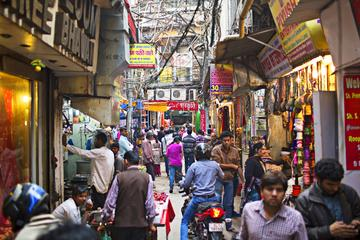 Private Tour: Captivating Walk through Old Delhi's Colorful Chandni Chowk with Private Transfer