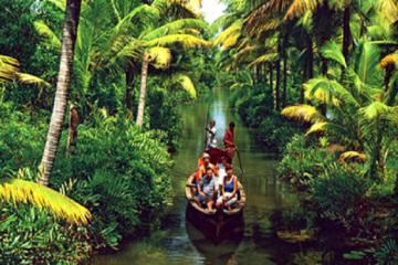 Relax In The  Kerala Backwaters  - A Two-night Excursion From Cochin With Private Transfers