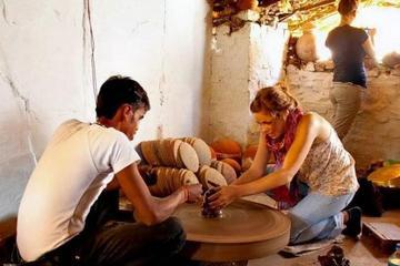 Wheel Pottery Workshop in Udaipur
