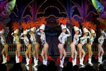 Espectáculo nocturno con champán en el Moulin Rouge