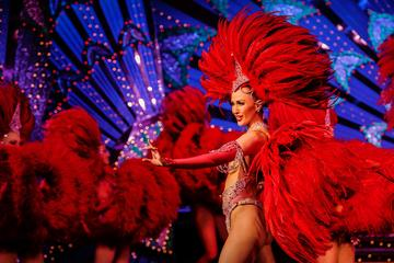 Parijs Moulin Rouge Diner en Show