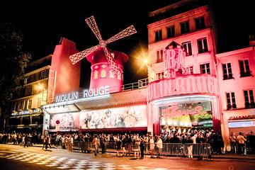 Spectacle au Moulin Rouge : salon VIP...