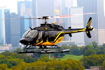 New York Helikoptervlucht: Groot eiland