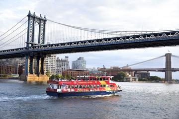 ニューヨーク市内観光バスツアーとハーバークルー…
