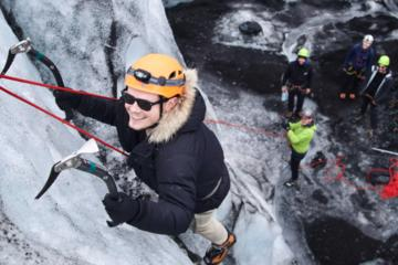 Glacier Hike and Ice Wall Experience from Skaftafell