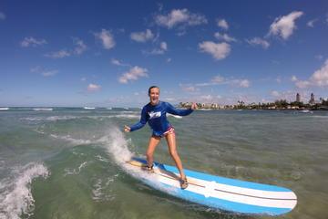 オアフ島海岸エクスカーション:小グループまたはプライベートでのサーフィンまた…