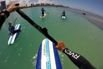 Leçon de Stand-up Paddleboard (surf debout avec pagaie) avec...