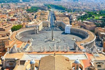 Excursão a pé pelas praças e fontes de Roma