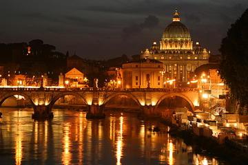 Excursão panorâmica noturna por Roma