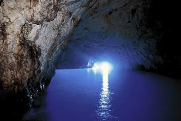 Excursion d'une journée à la Grotte bleue par Anacapri au départ de...