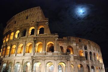 Tour di Roma di notte, con cena
