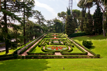 Tour met Vaticaanse tuinen en musea