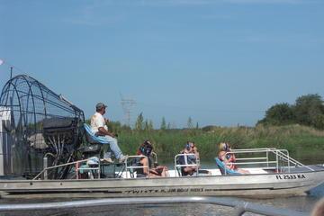 Aventure en hydroglisseur en Floride
