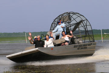 Florida Everglades-moerastour en hovercraftrit vanuit Orlando