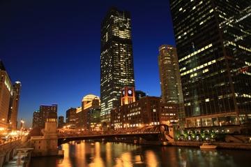 Halloween-Bootstour durch Chicago
