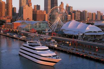 Schifffahrt mit Abendessen in Chicago