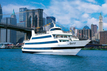 Spirit of New York-middagscruise med buffé