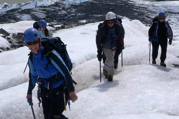 Expedición y subida al glaciar Mendenhall