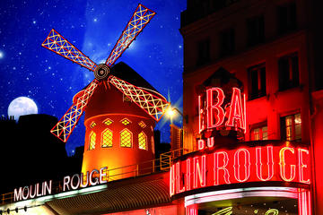 Dinner and Show at the Moulin Rouge with return transfer to Central...