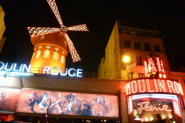 Eiffeltoren, Parijse cabaretshow en riviercruise op de Seine