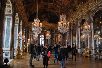 Palácio de Versalhes com excursão guiada por áudio Evite as Filas