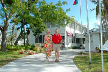 Entrée à la petite maison blanche Harry S. Truman