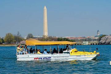 Excursão em veículo anfíbio por Washington DC