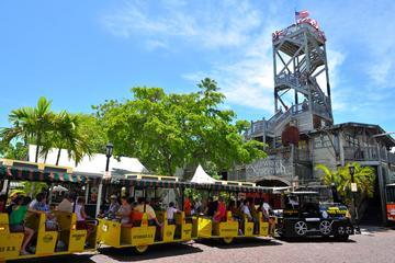 Excursion à Key West en bord de mer : excursion en train à Conch