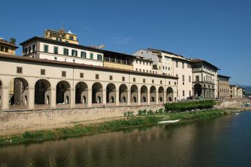 Evite las colas: visita a la Galería de los Uffizi y el Corredor...