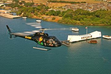 オアフ島、空と海のコンボ:サンセット ディナー クルーズまたは潜水艦エクスカ…