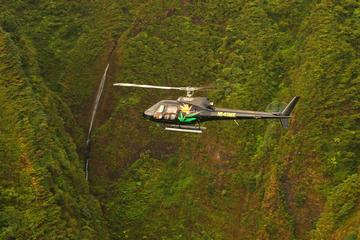 60分間オアフ島ヘリコプター ツアー:アリイ セイクリッド フォールズ