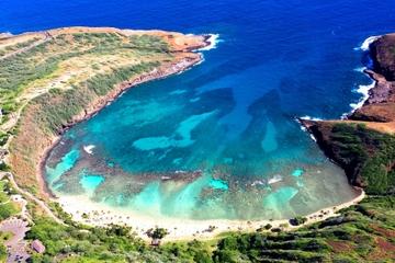 Recorrido en helicóptero de 45 minutos en Oahu: Hidden Oahu