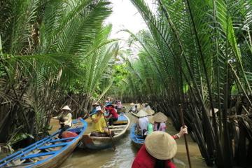 Entdeckungs-Abenteuer-Tour in kleiner Gruppe zum Mekong Delta von Ho...