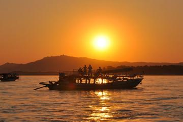 Sunset Boat Cruise in Bagan