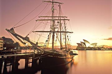 シドニー ハーバー帆船トワイライト ディナー…