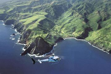ウェスト・マウイからモロカイ島へ向かう60分間のヘリコプターツアー