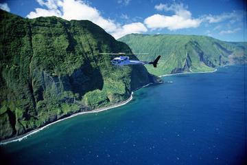 Circuit exclusif en hélicoptère de 45minutes à l'ouest de Maui et...