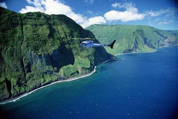 Esclusivo tour in elicottero di 45 minuti a West Maui e Molokai