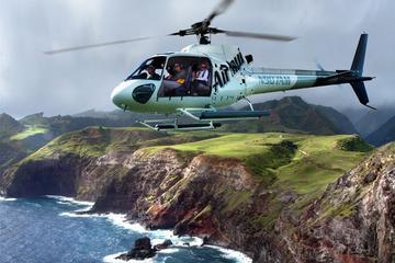 Recorrido en helicóptero sin puertas...