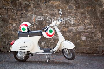 Vespatur i Florens: Toskanska kullar och italiensk mat