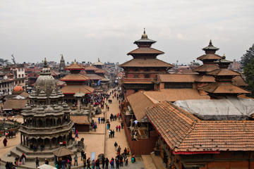 Cultural Walking Tour of Kathmandu: Swayambhunath and Durbar Square...